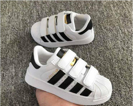 93a6b80373a2 New style shoes for kids girl online shopping - brand New Style Superstar Shell  Head Sneakers