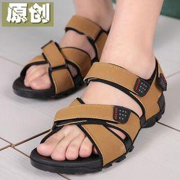 Charming 2017 Neue Casual Sandalen Männer Vietnamesisch Schuhe Schwarz Und Braun Flache Schuhe Sommer Zapatos Plus Größe 37-45 Light Beach