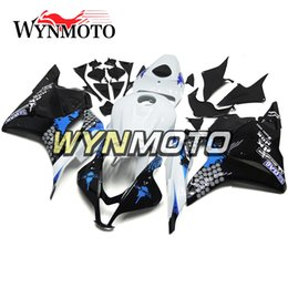 Honda F5 Canada - Blue Black Full Fairings For Honda CBR600RR F5 2009 2012 Year 09 10 11 12 Injection Body Kits Motorcycle Fairing Bodywork Carenes