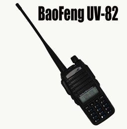 Dual Band Uhf Vhf Portable Australia - baofeng -82 Baofeng 82 walkie talkie uv 82 Portable Radio With Earphone CB Ham Radio Vhf Uhf Dual band Walkie-talkie Two-way Transceiver