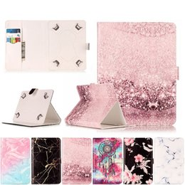 $enCountryForm.capitalKeyWord Australia - Universal 7 Inch 8 inhc 10 inch Tablet Cover Marble PU Leather Magnetic Buckle Flip Case For Huawei Lenovo Samsung Asus Kindle Tablet