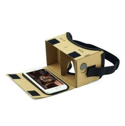 Virtual Computers NZ - DIY Ultra Clear Google Cardboard VR BOX 2.0 Virtual Reality 3D Glasses for iPhone SmartPhone computer gafas xiaomi mi vr headset