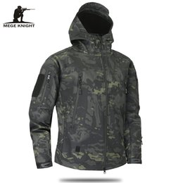 MulticaM caMouflage clothing online shopping - Clothing Pattern Autumn Men S Military Camouflage Fleece Jacket Army Tactical Clothing Multicam Male Camouflage Windbreakers New