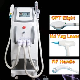 Elight rf ipl yag lasEr online shopping - Multifunction machine OPT SHR IPL Laser Hair Removal ND YAG Laser Tattoo Removal Beauty Machine IPL RF ND YAG Elight