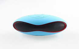 $enCountryForm.capitalKeyWord Australia - Portable Outdoor Rugby Design Wireless Bluetooth Speaker with Dural 3W Speakers Stereo Sound Support AUX Radio TF Playing FM Radio