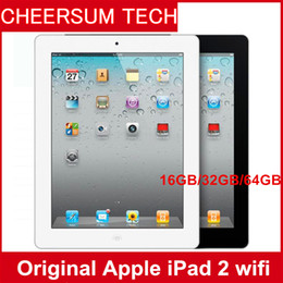 Tablet Refurbished Australia - Wholesale iPad 2 Refurbished 16GB 32GB 64GB Wifi Original Apple IOS Tablet A8 9.7 inch with Touch ID Tablet PC