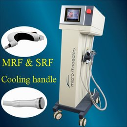 Radio cool online shopping - Microneedle Fractional RF Face Lift Skin Tightening Wrinkle Removal Superficial radio frequency microneedle cooling handle IN