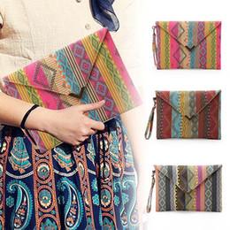 $enCountryForm.capitalKeyWord Canada - New National Geometric Canvas Bags Envelopes Clutch Small Ladies Designer Handbags Women Phone Package Purses 88 WML99