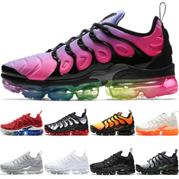 detailed look e5adb d6ea5 Nike Air Max Vapormax TN Plus the details page for more Logo Günstige TN  PLUS Mens Frauen Laufschuhe BE TRUE Gelb Dreifach Schwarz Weiß Volt Violet  Männer ...