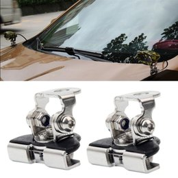 Discount atv engines - Hot sale Mounting Brackets For Car Led Working Lights Clips Holder Install On Engine Cover Hood SUV Offroad Car Truck AT