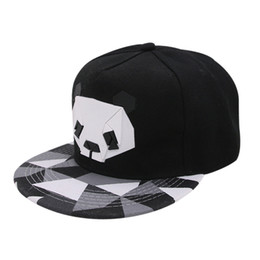 b13f64773aa 2018 Cartoon panda Adjustable Baseball Caps snapback casquette Hats For  youth Men Women Dance animal Cap Hip Hop Sun Bone Hat