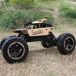 $enCountryForm.capitalKeyWord NZ - 2.4 G Remote control car climbing off-road vehicle professional Bigfoot car charging children's toy 1:18 alloy