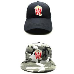 a6c9431c08e LDSLYJR 2018 Popcorn embroidery cotton Baseball Cap hip-hop cap Adjustable  Snapback Hats for kids and adult size 109