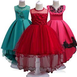 $enCountryForm.capitalKeyWord UK - Teenager Girl Dresses New Girls Birthday Wedding Party Pageant Long Princess Dress Kid Christmas Costume Children Clothes 14Y