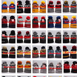 ed1531e5292 Hot Sale!2018 Mixed order New Winter Team Beanies Knitted Beanie Wool  Knitting Outdoor Skiing Beanie Caps Sport Baseball Beanies Hats Cap