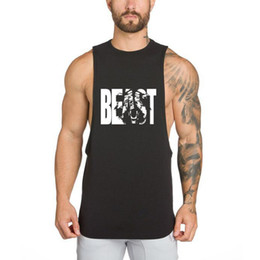 Quick Dry Shirts For Men Australia - Sports Tank Top For Men Compression Quick Dry Sport Short Sleeveless T-shirt Outdoor Workout Sport Mens Running Vest