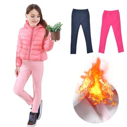 6417262f627a47 Warm Fleece Leggings Girls Canada - Girls Leggings Thicken Autumn Winter  Children Warm Pants For KIds