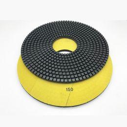 Toptan satış Beton Çimento için 400mm Islak Elmas Parlatma Pedi Terrazo Taş 10mm Kalınlığı