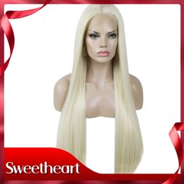 $enCountryForm.capitalKeyWord NZ - Top Quality Sexy Blonde Long Straight High Temperature Fiber Heat Resistant Glueless 150% Density Synthetic Lace Front Wigs For White Women
