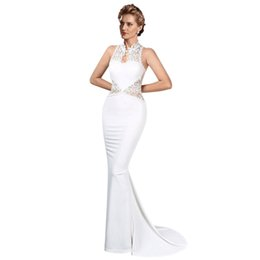 $enCountryForm.capitalKeyWord UK - 2018 New Style Prom Gown Floor Length Mermaid Dresses Lace Elegant Formal Long Dressess Evening Party Special Occasion Celebrity Dresses