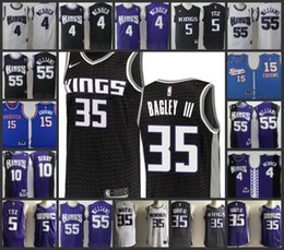 Sacramento Kings Men jerseys  4 Chris Webber 35 Marvin Bagley III 55 Jason  Williams 10 Mike Bibby Stitched jersey 44971f96e