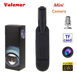 Pen Video Camera Hd Canada - Volemer Mini Camera T189 Mini DV Camera Camcorder HD 1080P 720P Micro Pen Video Voice Recorder Camara Digital Cam