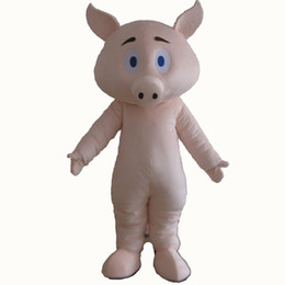 Wholesale pig mascots for sale - Group buy Hot sale EVA Material Helmet cuteness pig Mascot Costumes Cartoon pig costume Apparel Birthday party Masquerade