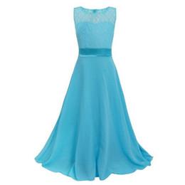 $enCountryForm.capitalKeyWord NZ - Girls Flower Lace Dress for Party and Wedding Bridesmaid Kids Girl Dress Ball Gown Formal Maxi Dress