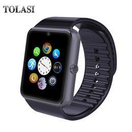 Wholesale New TOLASI X1 Bluetooth Smart Watch For Apple iPhone IOS Android Phone Wrist Wear Support Sync smart clock Sim Card PK DZ09 GV18