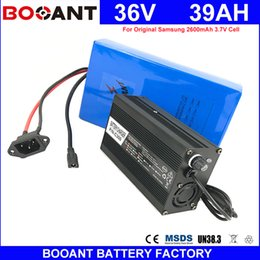 Motor Bicycles Australia - BOOANT 36V 40AH E-Bike Li-ion Battery for Bafang 1500W Motor Electric Bicycle Battery For Original 18650 36V with 5A Charger