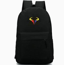 Опт Надаль рюкзак теннис Рафаэль рюкзак Рафа звезда школьный прохладный значок рюкзак Спорт школьный мешок Открытый день пакет