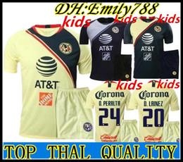 74c25653bac Mexico socks online shopping - Kid Kits socks Mexico club america kids away  kits Soccer sets