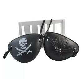 $enCountryForm.capitalKeyWord NZ - Novelty Plastic Pirate Eye Patch Skull Head Pattern Eyeshade For Halloween Cosplay Party Decoration Supplies Hot Sale 0 58fk BB