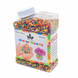 plant gels 2019 - Water Beads 9oz Over 30,000 Water Gel Beads Pearls for Vase Filler Wedding Centerpiece Home Decoration Plants Toys cheap