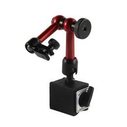Universal Flexível Base De Metal Magnética Stand Holder Indicador de Teste de Discagem Ferramenta Transporte mundial da gota