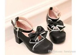 $enCountryForm.capitalKeyWord Canada - Free send Hot new style Autumn Korean high heeled shoes female Coarse heel round head single shoes