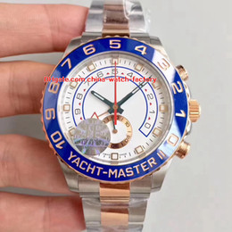 Chinese  6 Style JF Factory Best Quality Chronograph 44mm YachtMaster II 116680 116681 116688 116689 Swiss ETA 7750 Movement Mens Watch Watches manufacturers