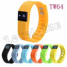 Bluetooth Fitbit Smart Watch NZ - activity wrist bands fibit tw64 wristband Smart bracelet Wristband Fitness tracker Bluetooth 4.0 fitbit flex Watch for ios android