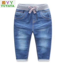 efe57c77518df boys ripped jeans 2017 Children Jeans Boys Denim trousers Baby Girls Jeans  Casual pants kids clothing spring leggings