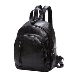 Small Black Back Pack NZ - NIBESSER Small Backpack Women School Backpack Black Backbag Student Fashion Back Pack Notebook Backpack Travel Organizer