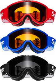 Au détail Cool Cariboo Smith OTG Lunettes de Ski 3 Couleur Rouge Bleu Noir Lunettes BRAND NEW AVEC RECEIPT de FW15 haute qualité Ride Travailleur lunettes