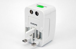 Power Socket Eu Australia - Global Travel Abroad Conversion Socket Plugs Adapter Multifunction Universal US AU EU UK Plug Travel Power Socket Converter 100pcs lot