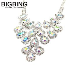 $enCountryForm.capitalKeyWord UK - BIGBING Jewelry Fashion full drop colorful crystal short necklace fashion necklace high quality nickel free Free shipping V201