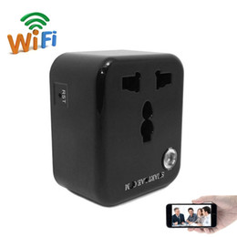 Dvr Adaptor NZ - 32GB 1080P HD Wifi Socket Camera Mini Charger Adaptor Camera Motion Activated Security DVR Portable Camcorder Support IOS Android View