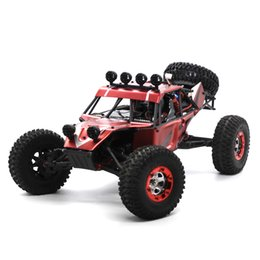 Chinese  wholesale High Speed Metal Shell RC Car 2.4GHz V01 1:12 4WD Off-Road Desert Truck RTR 40km H Buggy With Repair Tools manufacturers