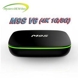 Media Player Australia - Hot M9S V6 4K Android 7.1 TV Box Rockchip RK3229 1G 8G 4K x 2K H.265 10-bit 60fps WiFi Quad Core 1.5GHZ Media Player