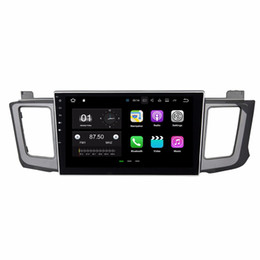 "touch screen toyota NZ - Quad Core 10.1"" Android 7.1 Car DVD Player Car Raido for Toyota RAV4 2012 2013 2014 2015 With 2GB RAM Radio GPS WIFI Bluetooth 16GB ROM"