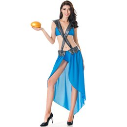 Chinese  New Sexy Arabic Dance Costume Sexy Goddess Aladdin Princess Costume Fancy Dress Arabian Belly Dancer Jumpsuit manufacturers