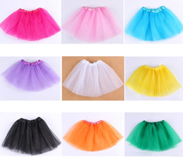 $enCountryForm.capitalKeyWord NZ - 2018 newest Baby Girl Tiered Tulle Skirts Mini Skirt Tutu Skirt Pleated skirts for girls babies clothes Best Gifts DHL Free shipping