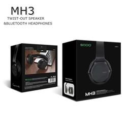 $enCountryForm.capitalKeyWord Australia - SODO MH3 NFC 2in1 Twist-out Speaker Bluetooth Headphone With FM Radio AUX TF Card MP3 Sports Magic Wireless Headset DHL free ship
